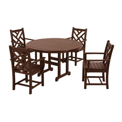 Polywood Chippendale 5pc. Dining Set