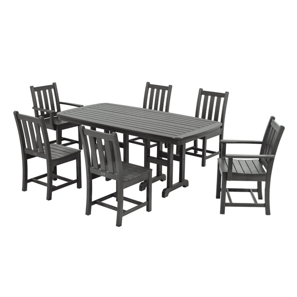 Polywood Traditional Garden 7 pc. Dining Set - Skylar's Home and Patio