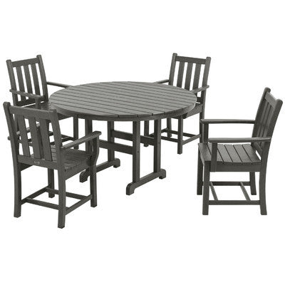 Polywood Dining Set San Diego 5 Pc Traditional Garden Patio Dining