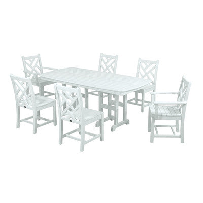 Polywood Dining Set San Diego: POLYWOOD® Chippendale Dining Set
