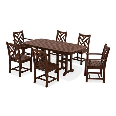 POLYWOOD® Chippendale Dining Set (7 pc.) - Skylar's Home and Patio