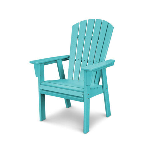 Polywood Nautical Adirondak Dining Chair - Aruba - Skylar's Home and Patio