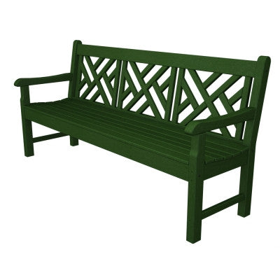 "POLYWOOD® Rockford 72"" Chippendale Bench - Skylar's Home and Patio"