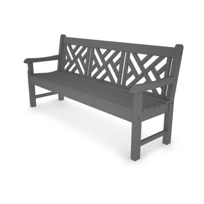"POLYWOOD® Rockford 72"" Chippendale Bench"