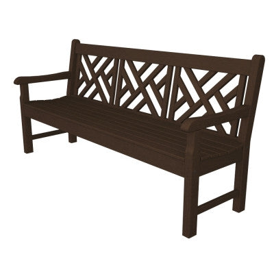 Chippendale Pollywood Bench - Pollywood Products San Diego