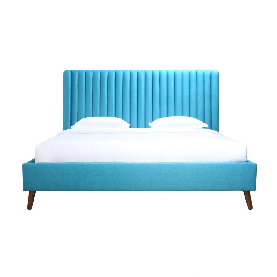 Camilla King Bed Blue - Skylar's Home and Patio