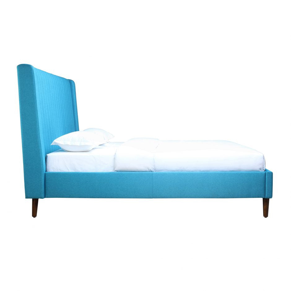 Camilla Queen Bed Blue - Skylar's Home and Patio