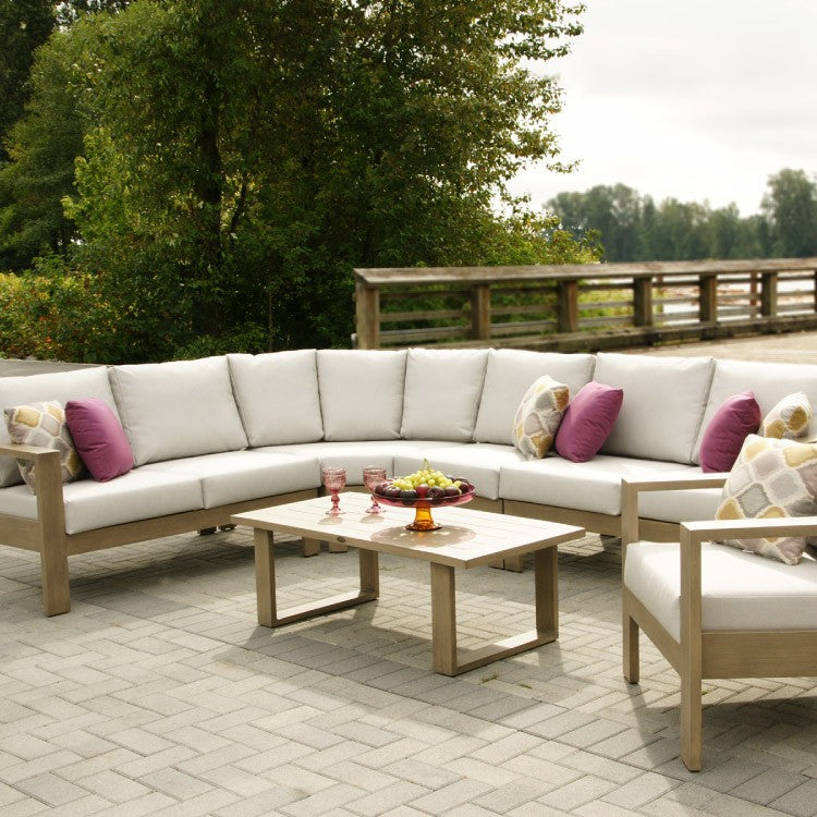 Park Lane Curved Sectional by Ratana - Skylar's Home and Patio