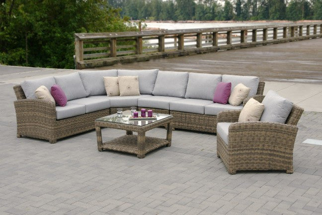 Princeville Curved Sectional by Ratana - Skylar's Home and Patio