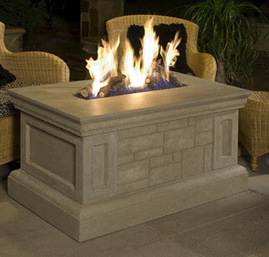 Rectangular Firetable - Skylar's Home and Patio