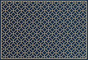 Riviera Diamond-Navy - Skylar's Home and Patio