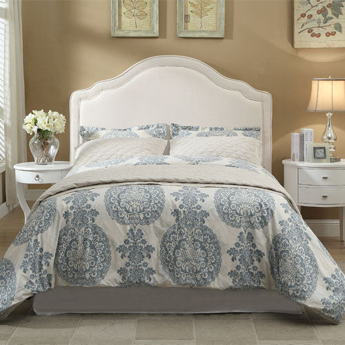 Ronda Upholstered Bed - Skylar's Home and Patio