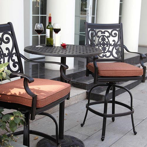 St. Cruz Counter Height Bar Set (2 Person) - Skylar's Home and Patio