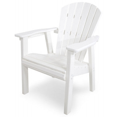POLYWOOD® Seashell Casual Chair - Skylar's Home and Patio