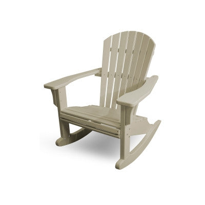 POLYWOOD® Seashell Rocker - Skylar's Home and Patio