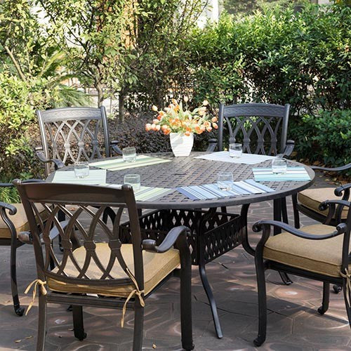 San Marcos Dining Set (6pc) - Skylar's Home and Patio
