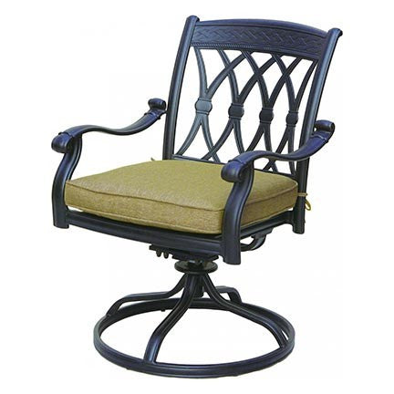 San Marcos Swivel Rocker Dining Chair