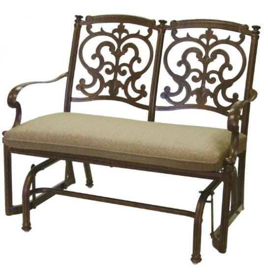 Santa Barbara Collection - Bench Glider - Skylar's Home and Patio