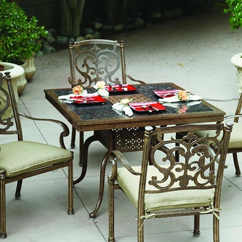 Santa Barbara Dining Set (4 Person) - Skylar's Home and Patio