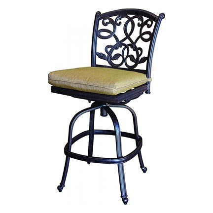 Santa Monica Armless Bar Stool