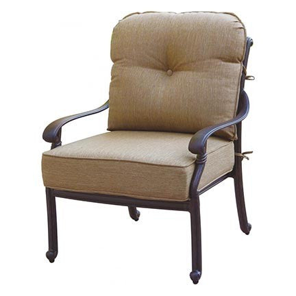 Santa Monica Club Chair - Skylar's Home and Patio