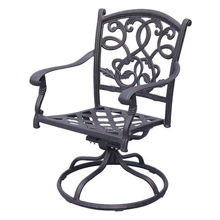 Santa Monica Swivel Rocker Dining Chair