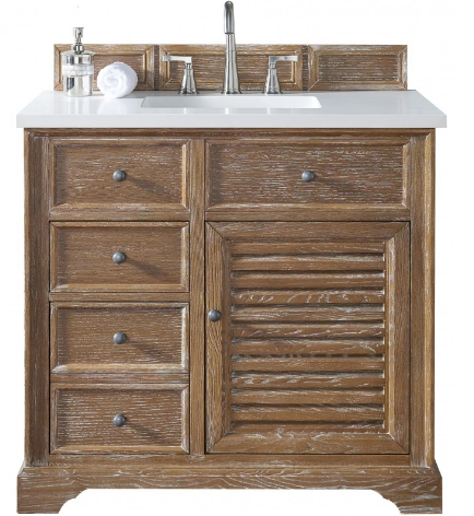 "Savannah 36"" Single Vanity Cabinet - Skylar's Home and Patio"