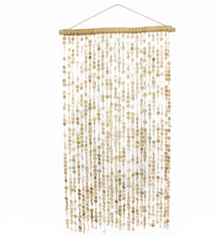 Chiyo Shell Hanging Divider - Skylar's Home and Patio
