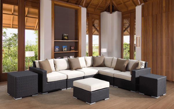 Solana Outdoor Sectional by Sunset West - Skylar's Home and Patio