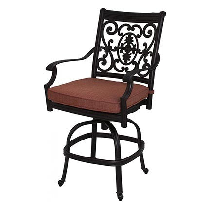 St. Cruz Swivel Counter/Bar Stool - Skylar's Home and Patio
