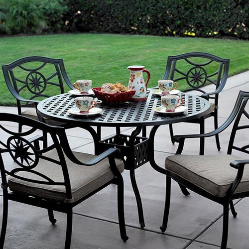 Ten Star Dining Set (4 Person) - Skylar's Home and Patio