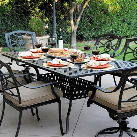 Ten Star Dining Set (6 Person) - Skylar's Home and Patio