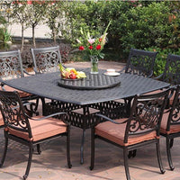 St. Cruz Dining Set (8pc) - Skylar's Home and Patio