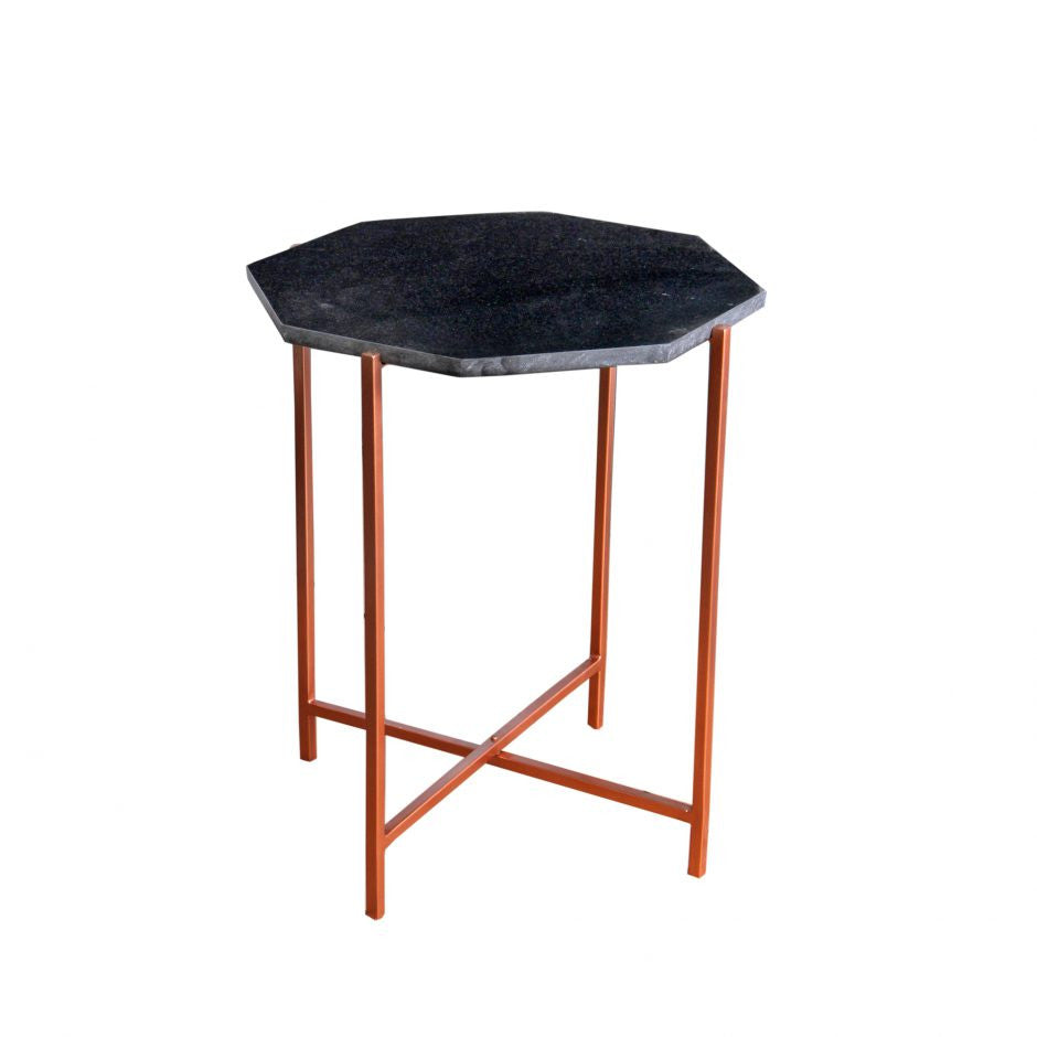 Octavia Accent Table Black - Skylar's Home and Patio