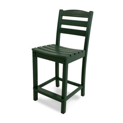 POLYWOOD® La Casa Café Counter Side Chair - Skylar's Home and Patio