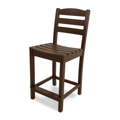 POLYWOOD® La Casa Café Counter Side Chair