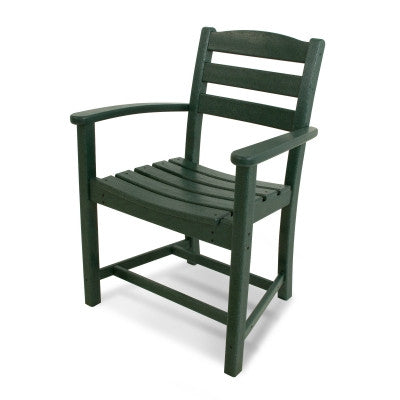 Polywood Dining Chairs San Diego: La Casa Café Dining Arm Chair