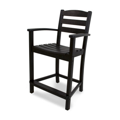 Polywood Counter Stools San Diego: La Casa Café Counter Arm Chair