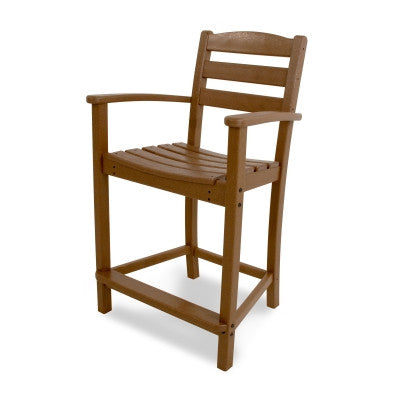 POLYWOOD® La Casa Café Counter Arm Chair - Skylar's Home and Patio