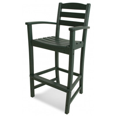 Polywood Bar Stools San Diego: POLYWOOD® La Casa Café Bar Arm Chair