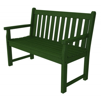 "Outdoor Polywood Benches - POLYWOOD® Traditional Garden 48"" Bench"