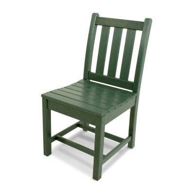 Polywood Dining Chairs San Diego: Traditional Garden Dining Side Chair