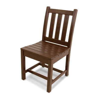 POLYWOOD® Traditional Garden Dining Side Chair - Skylar's Home and Patio