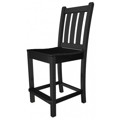 Polywood Counter Stool San Diego-Traditional Garden Counter Side Chair