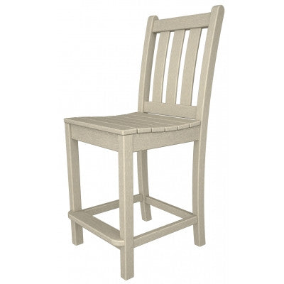 POLYWOOD® Traditional Garden Counter Side Chair