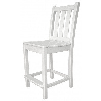 POLYWOOD® Traditional Garden Counter Side Chair - Skylar's Home and Patio
