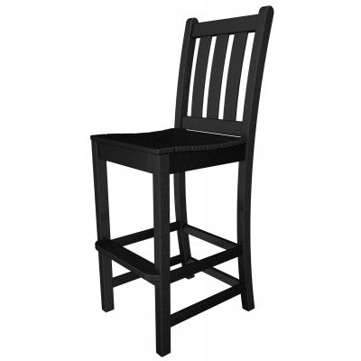 Polywood Bar Side Chairs San Diego - Traditional Garden Bar Side Chair