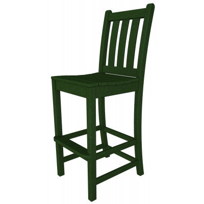 POLYWOOD® Traditional Garden Bar Side Chair - Skylar's Home and Patio