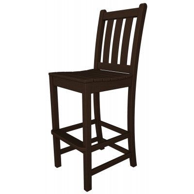 POLYWOOD® Traditional Garden Bar Side Chair