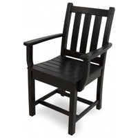 Polywood Dining Chairs San Diego - Traditional Garden Dining Arm Chair